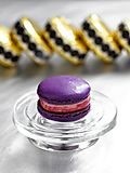 French Macaron Cassis Sorbet