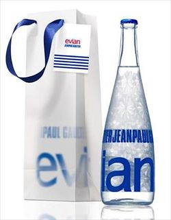 Evianwaterforpost